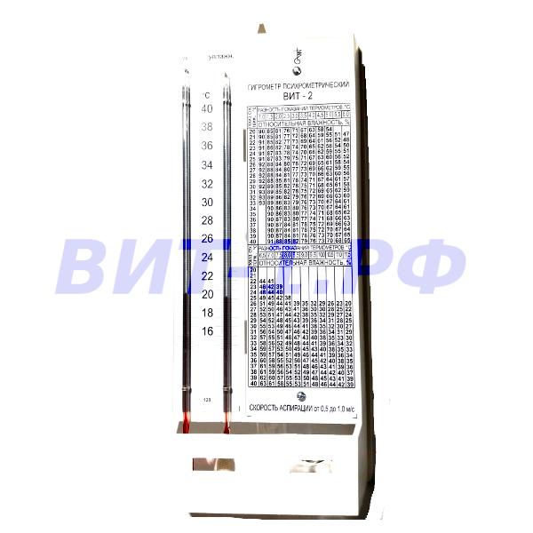 ВИТ-2 (+15…+40)°С Гигрометр психрометрический