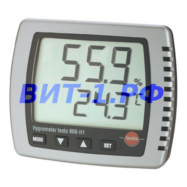 Термогигрометр Testo 608-Н1 электронный (заводская калибровка)